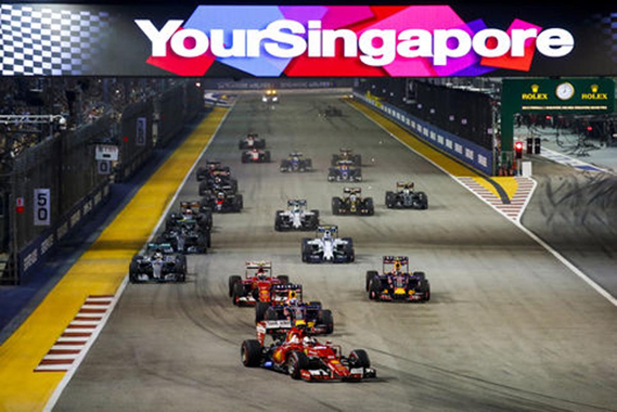 F1シンガポールGP 結果 速報