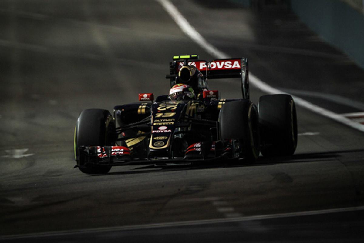 ロータス F1シンガポールGP 予選