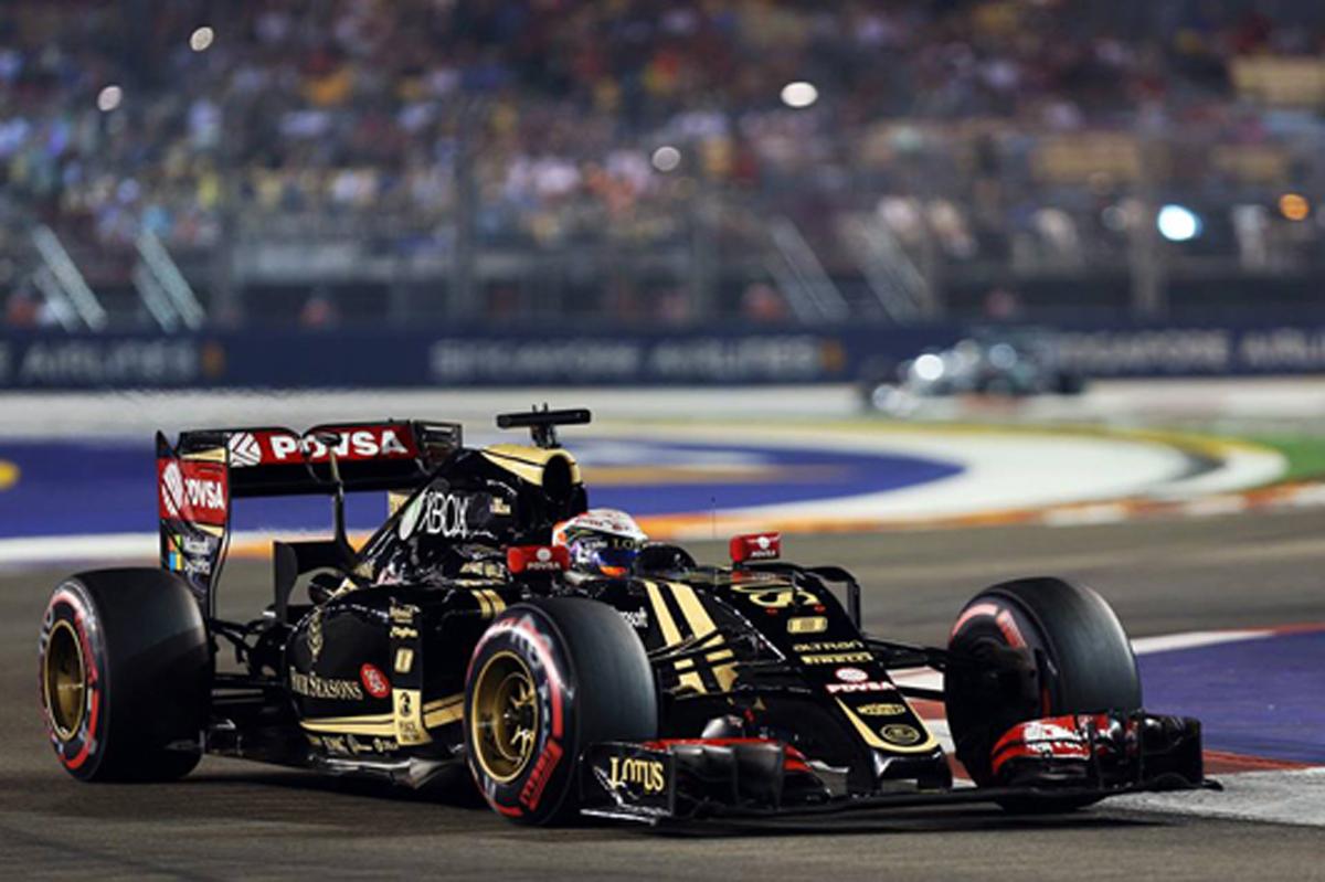 ロータス F1シンガポールGP 結果