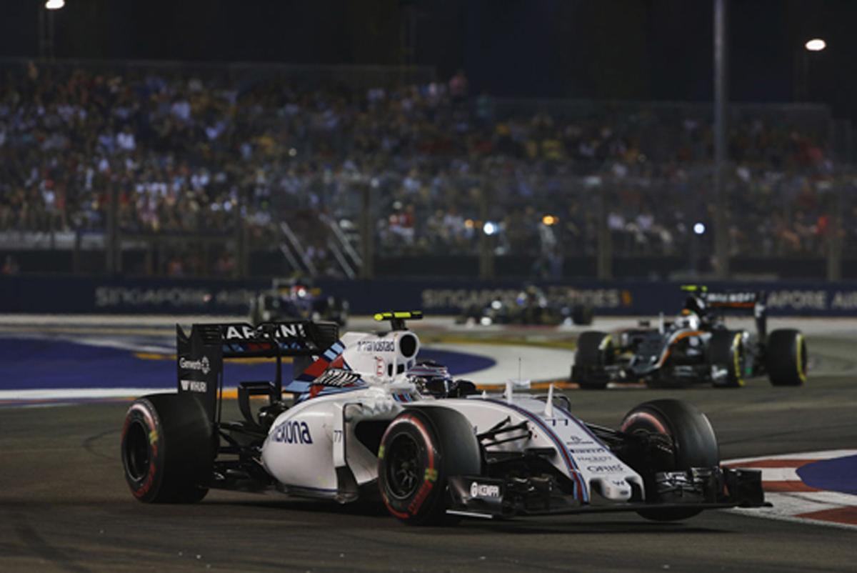 ウィリアムズ F1シンガポールGP 結果