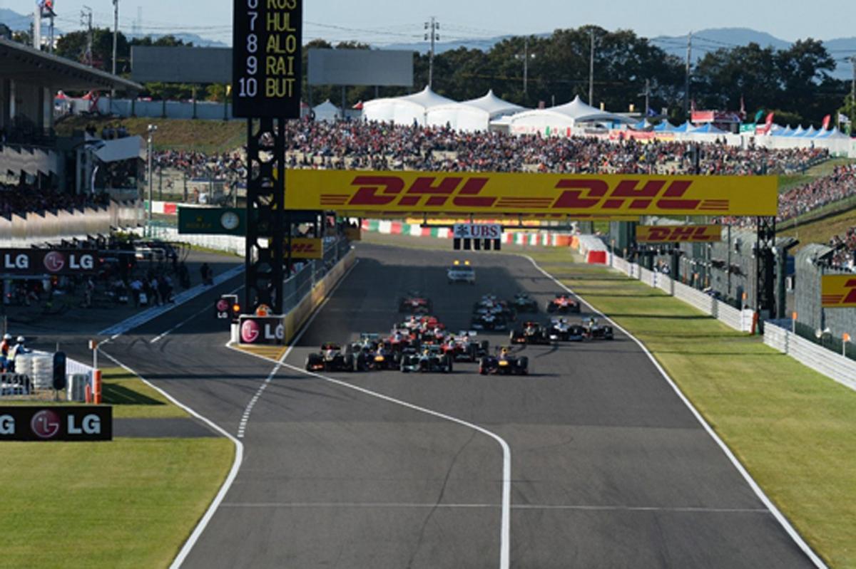 F1 日本グランプリ 放送 スケジュール