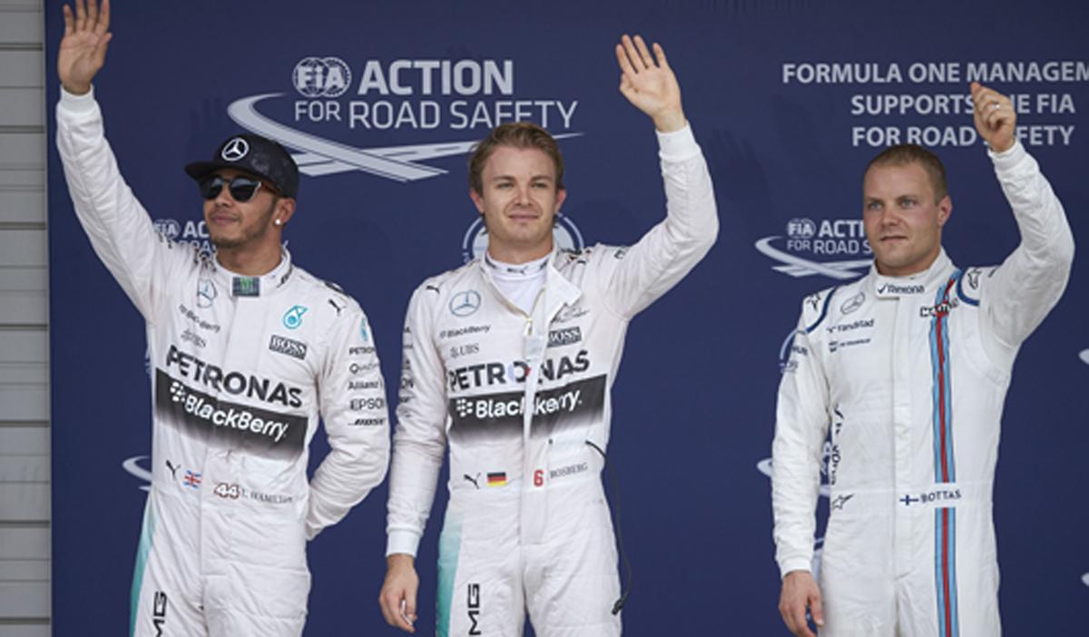 F1 日本グランプリ 予選 (鈴鹿)