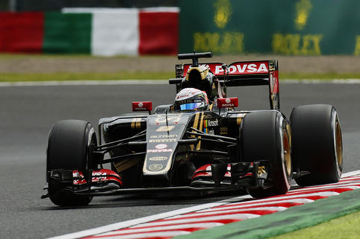 ロータス F1日本グランプリ 予選
