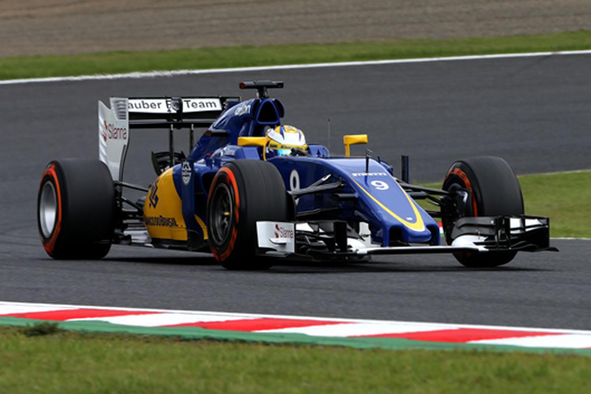 ザウバー F1日本グランプリ 予選