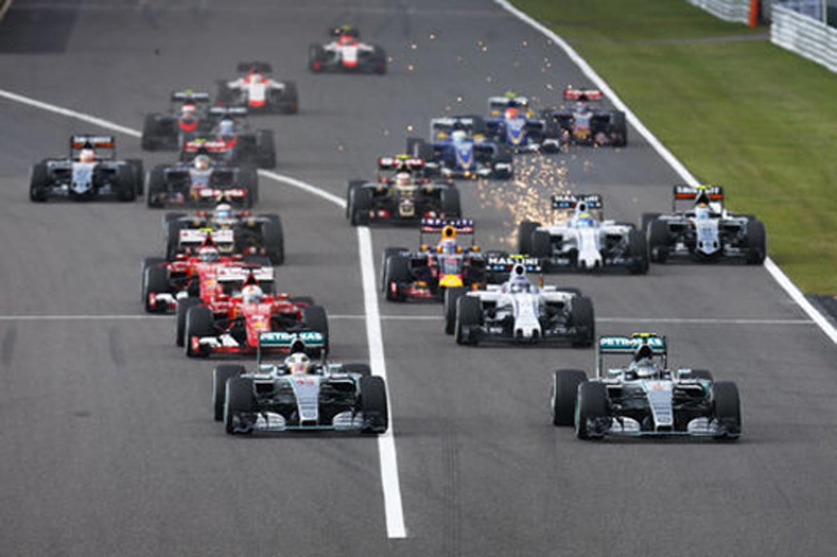 F1 速報 鈴鹿 日本グランプリ 結果