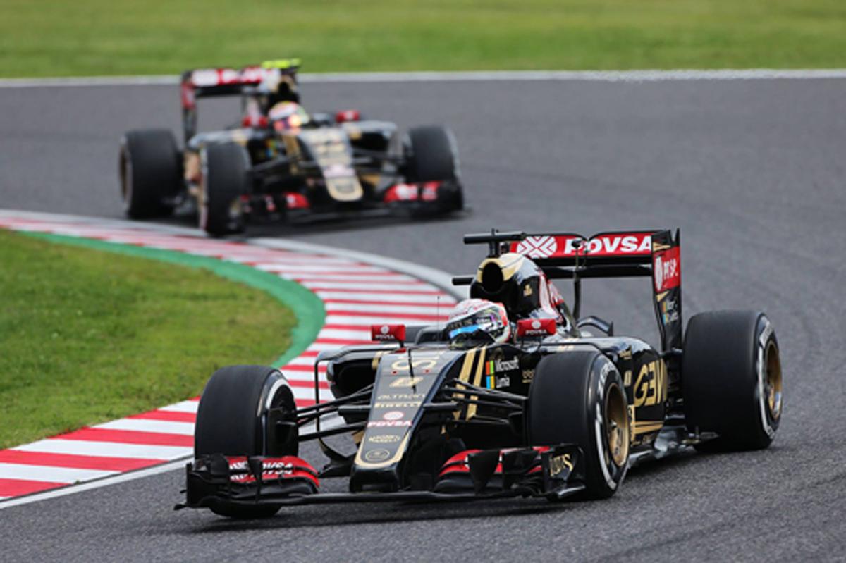 ロータス F1日本グランプリ 速報