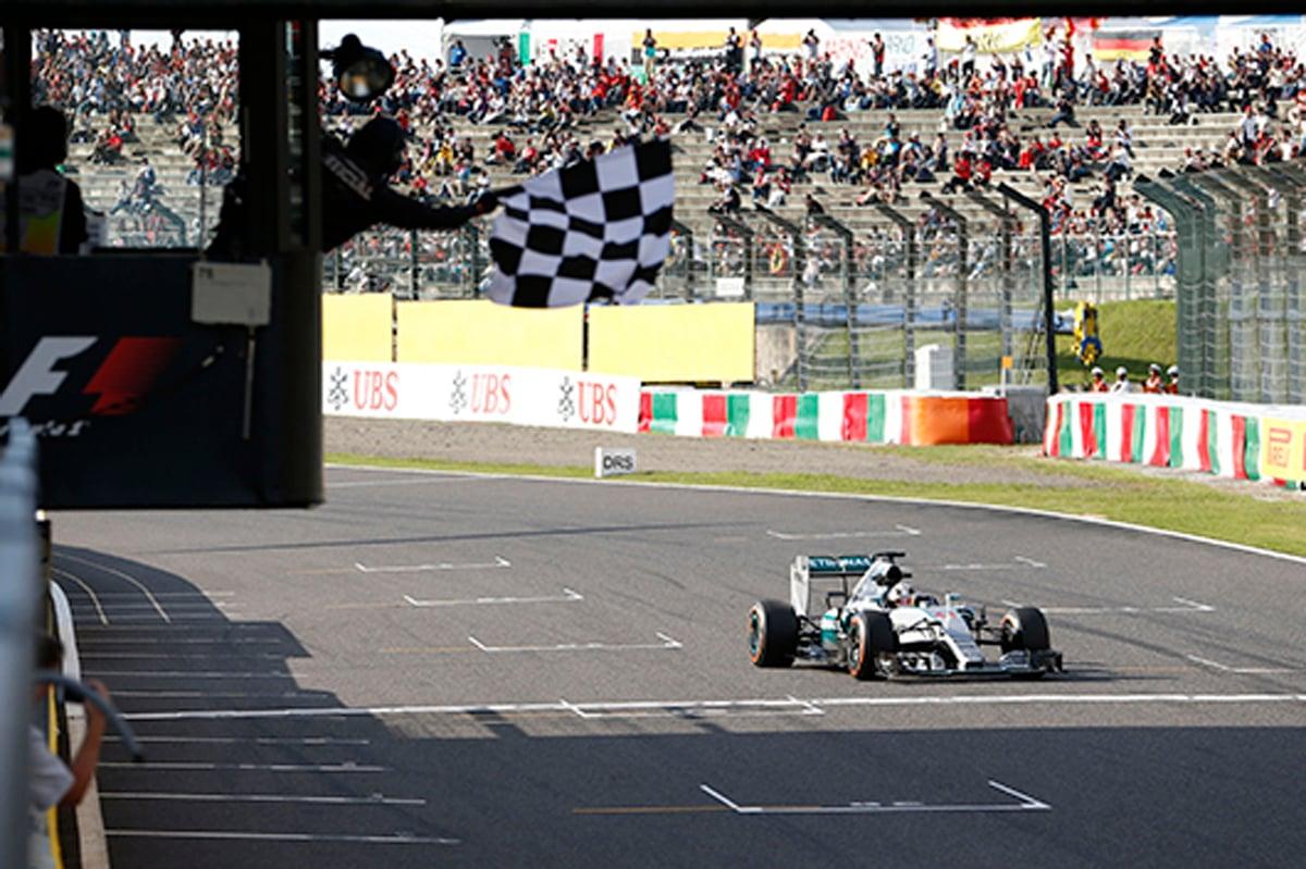 F1日本グランプリ メルセデス