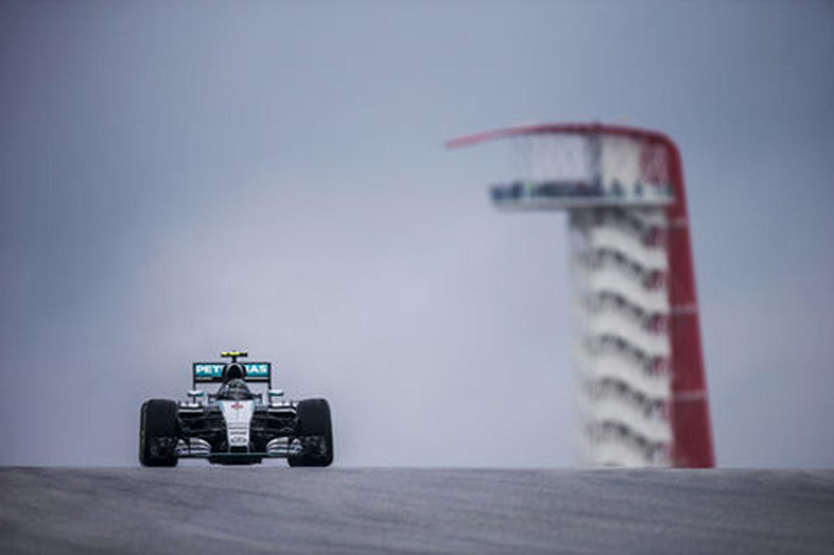 F1アメリカGP 速報