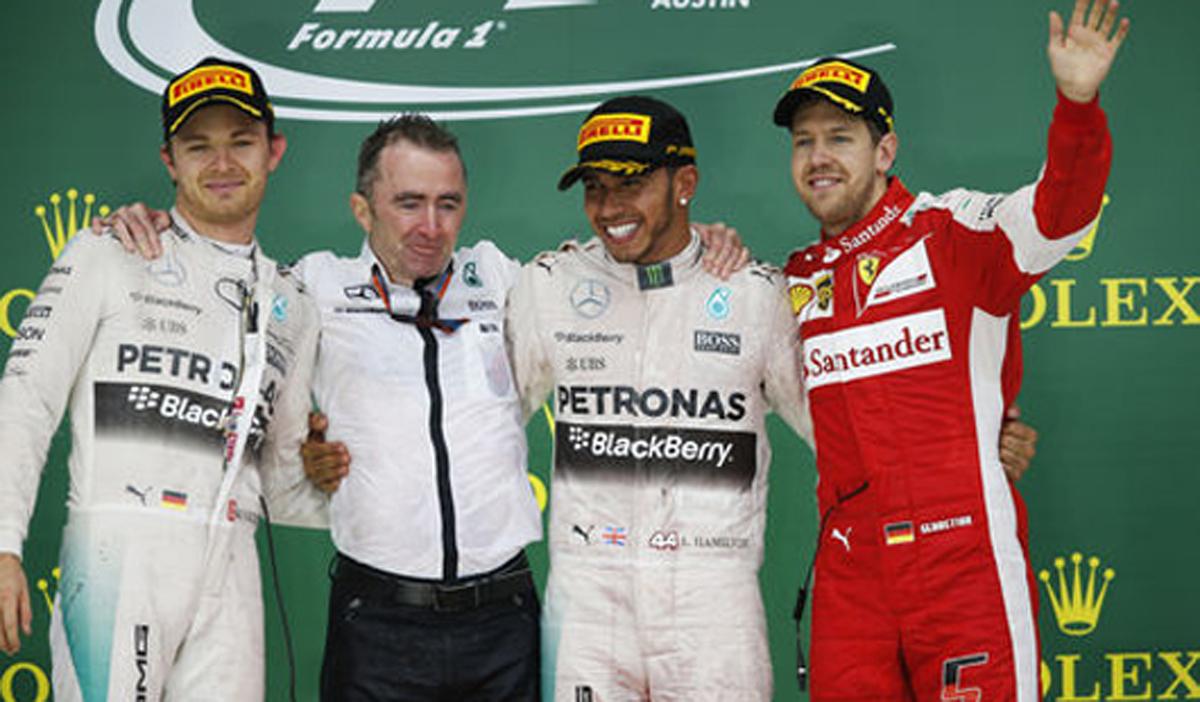 F1 アメリカGP 決勝