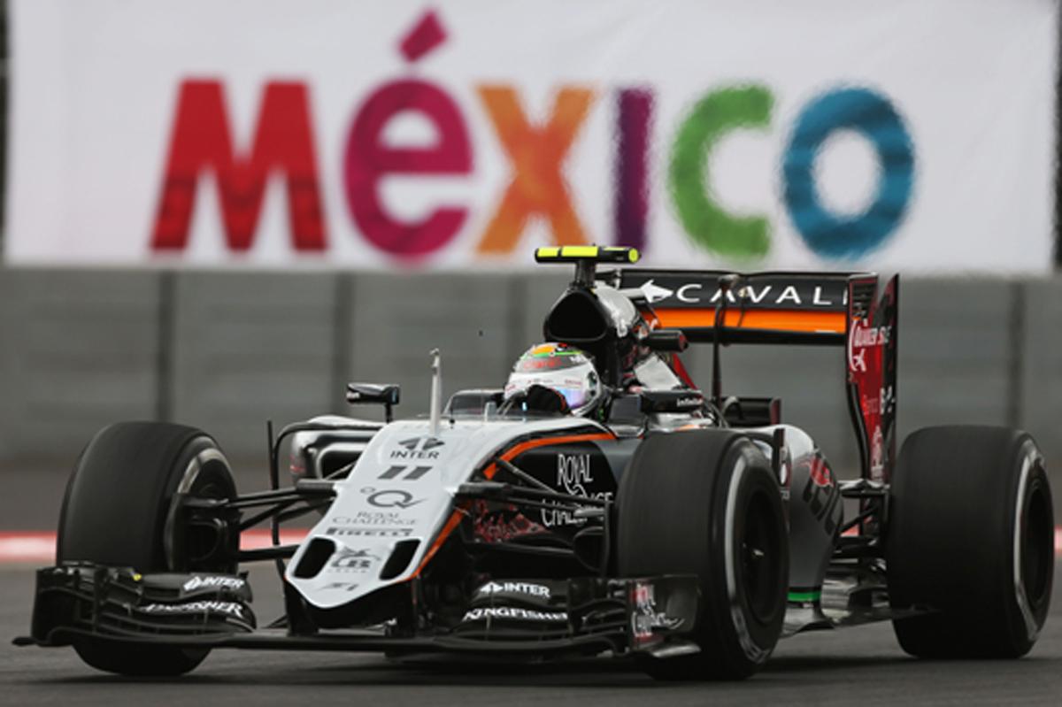 フォース・インディア F1メキシコGP