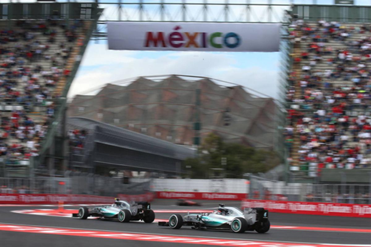 メルセデス F1メキシコGP