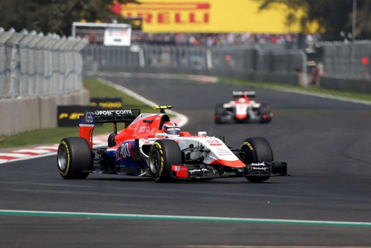 マノー・マルシャ F1メキシコGP