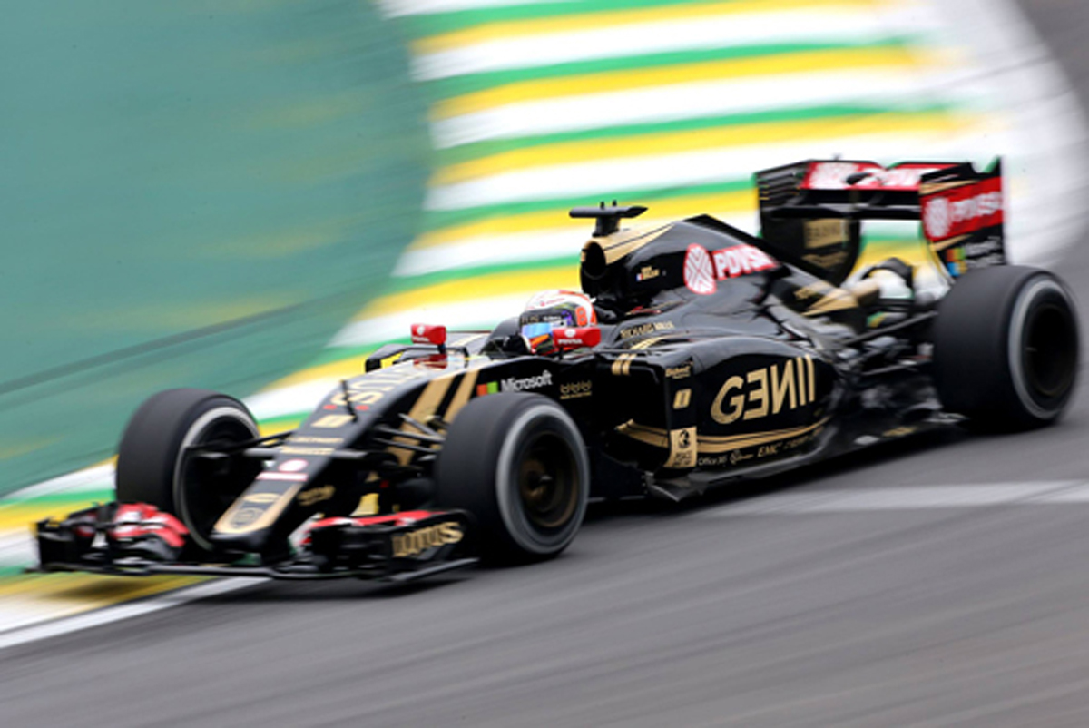 ロータス F1 ブラジル