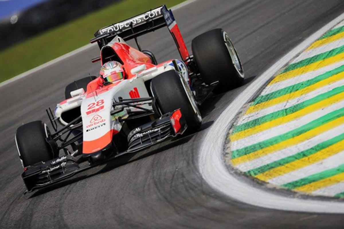 マノー・マルシャ F1 ブラジル