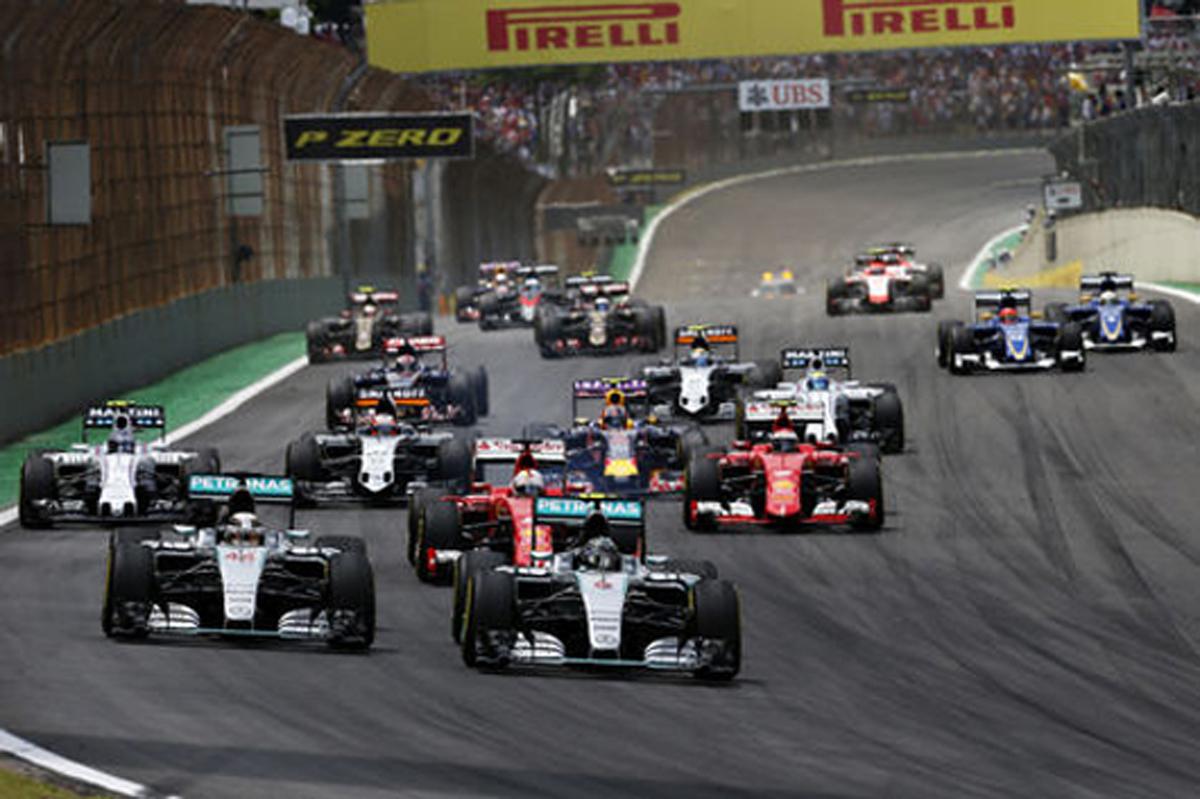 F1ブラジルGP 速報