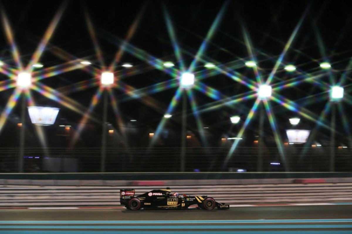 ロータス F1 アブダビグランプリ