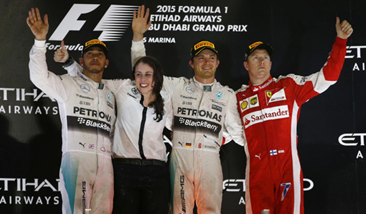 F1 アブダビグランプリ 決勝