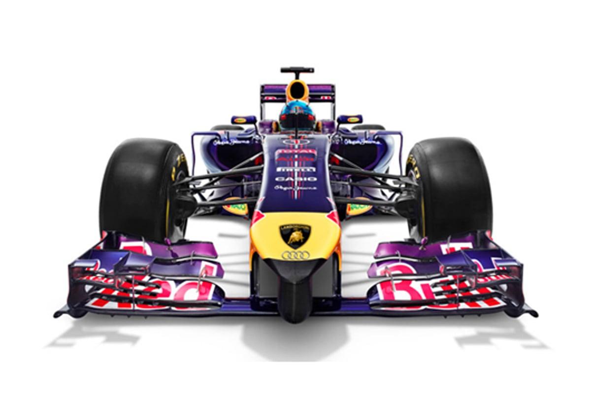 レッドブル F1 ランボルギーニ