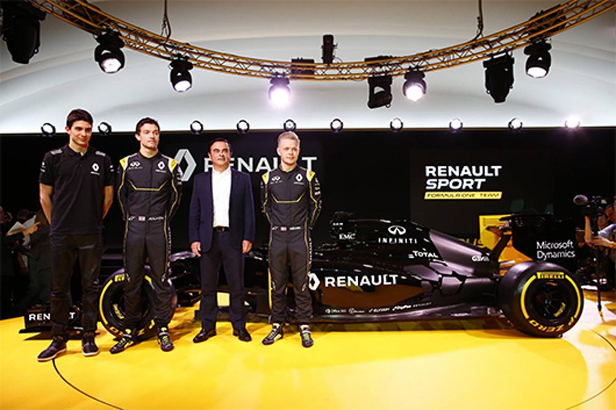 2016年 F1ドライバー
