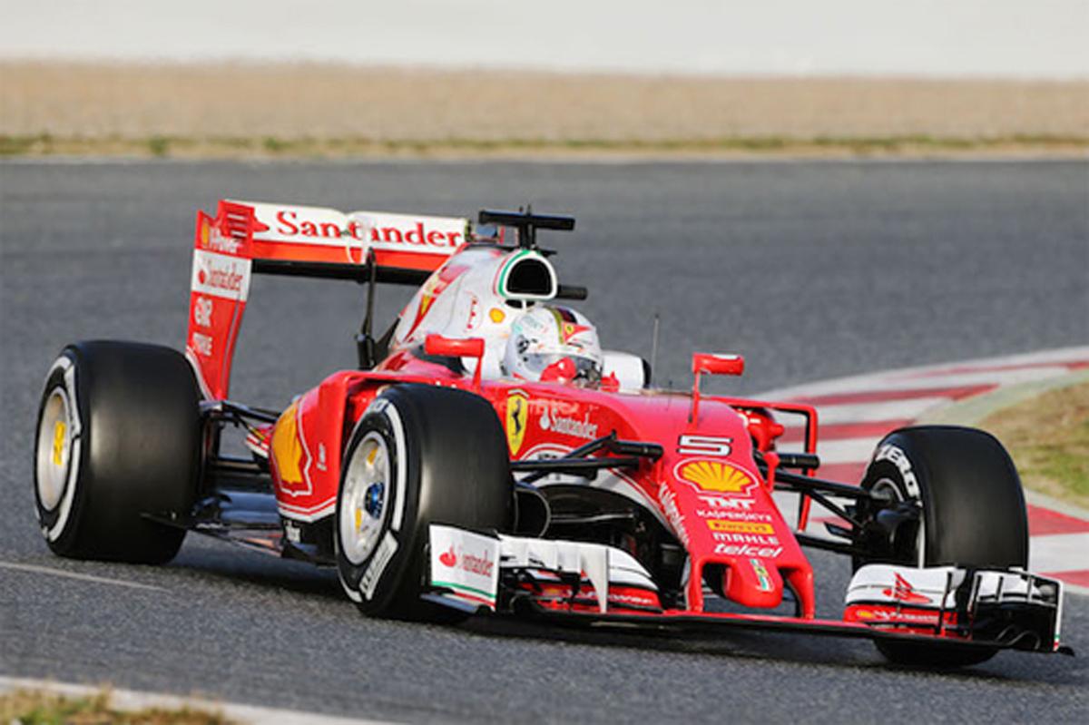 F1バルセロナテスト 2日目 午前