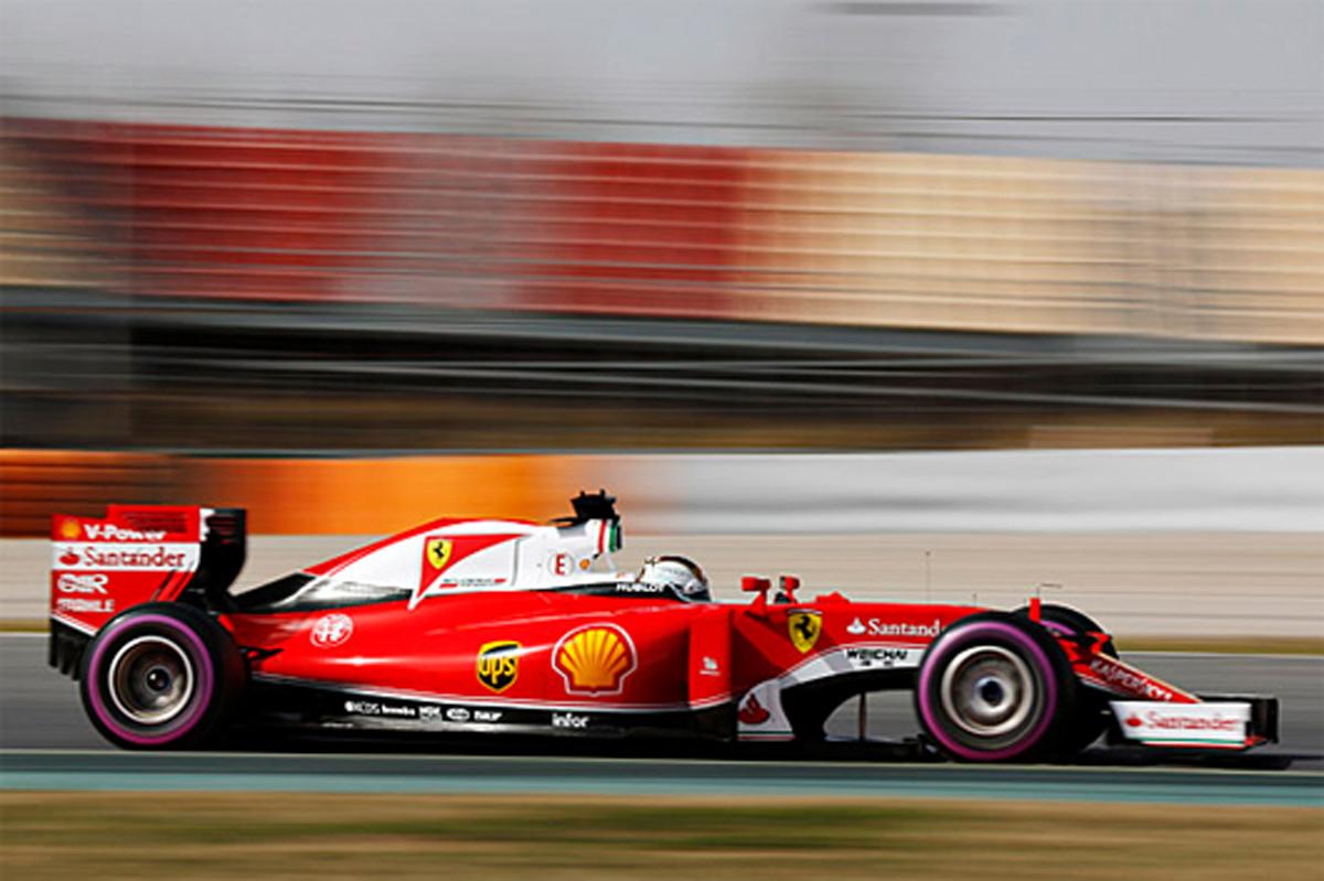 2016年 F1バルセロナテスト2日目