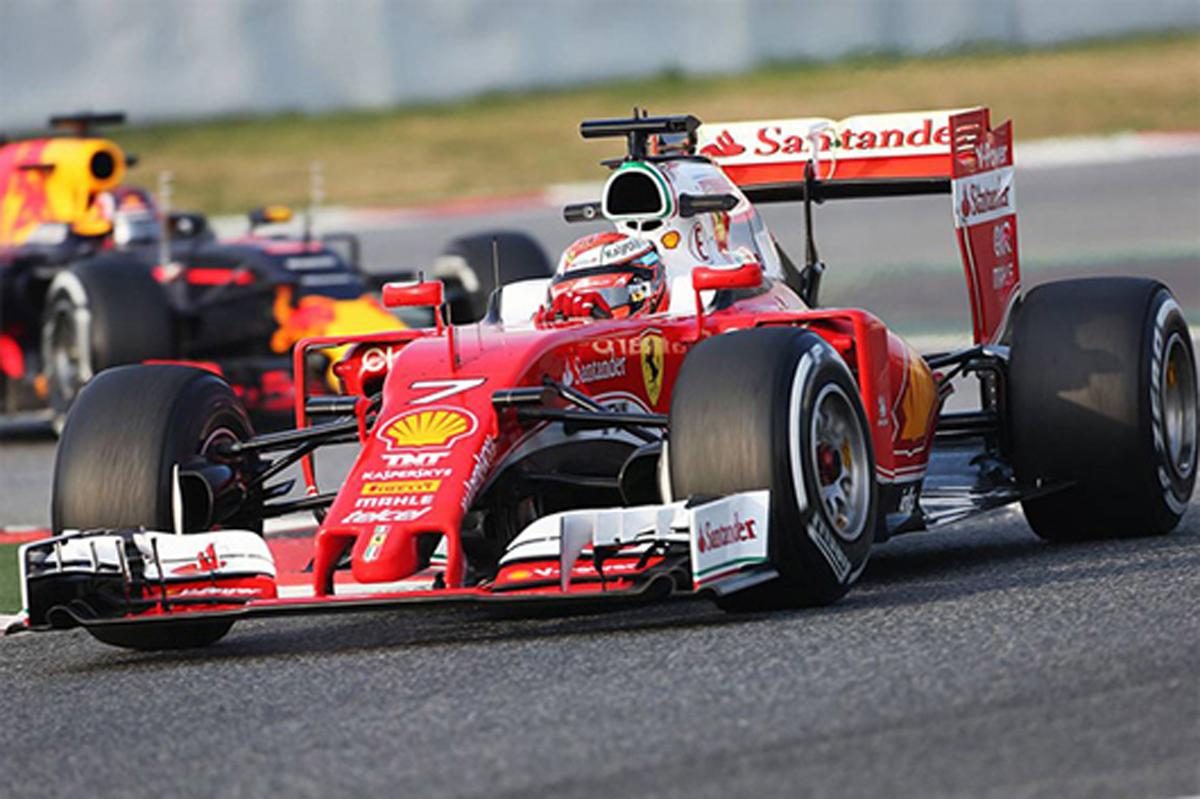 F1 バルセロナテスト 最終日