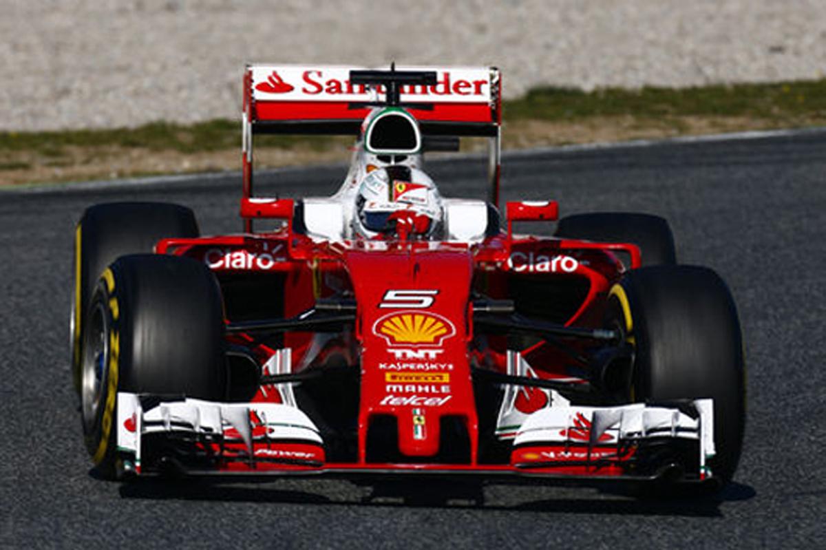 F1 バルセロナテスト最終日 速報