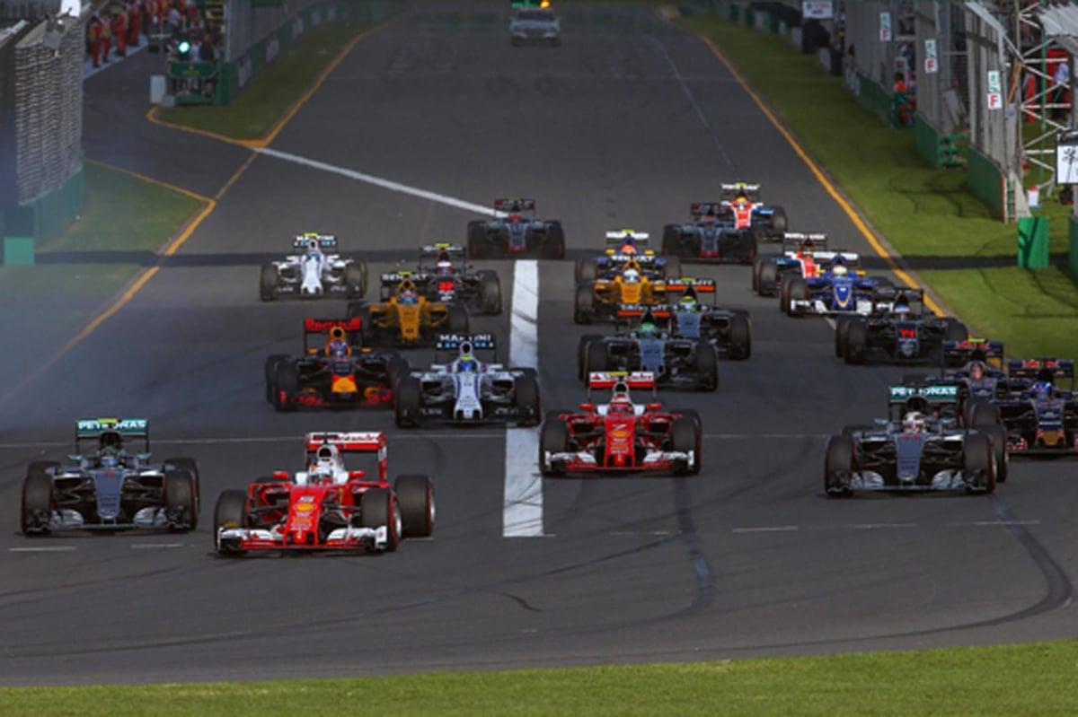 2016 F1オーストラリアGP 動画