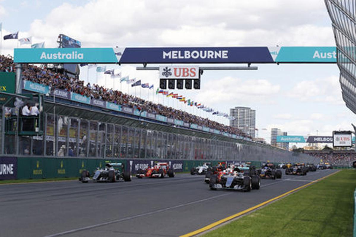 F1オーストラリアGP 結果 速報