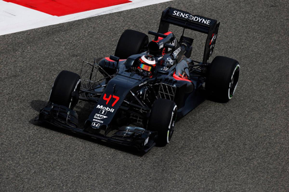 マクラーレン・ホンダ 2016 F1 バーレーンGP