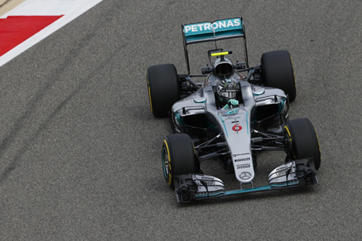 メルセデス 2016 F1 バーレーンGP