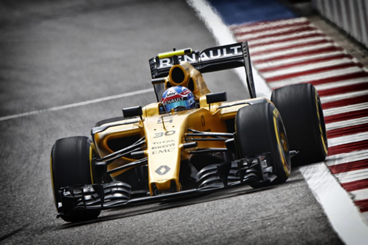 ルノー F1 2016 ロシアGP