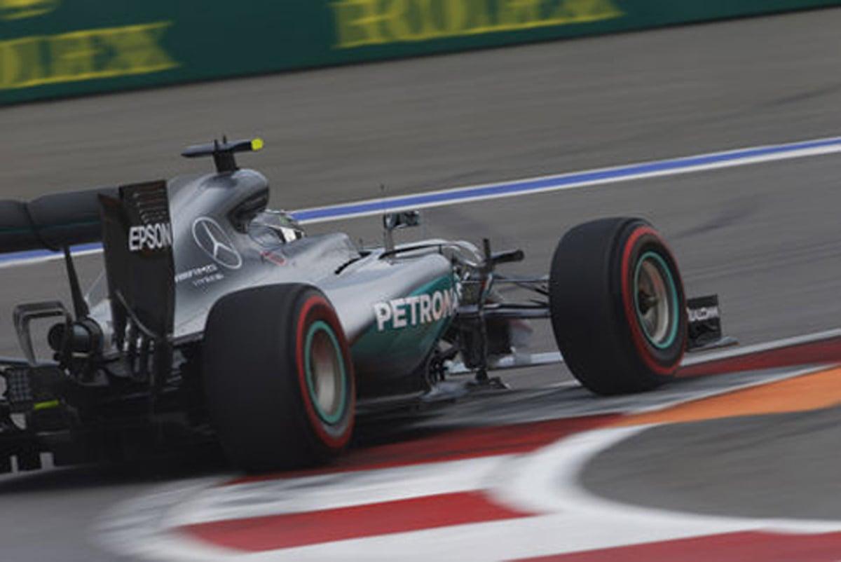 F1 2016 ロシアGP 予選 結果