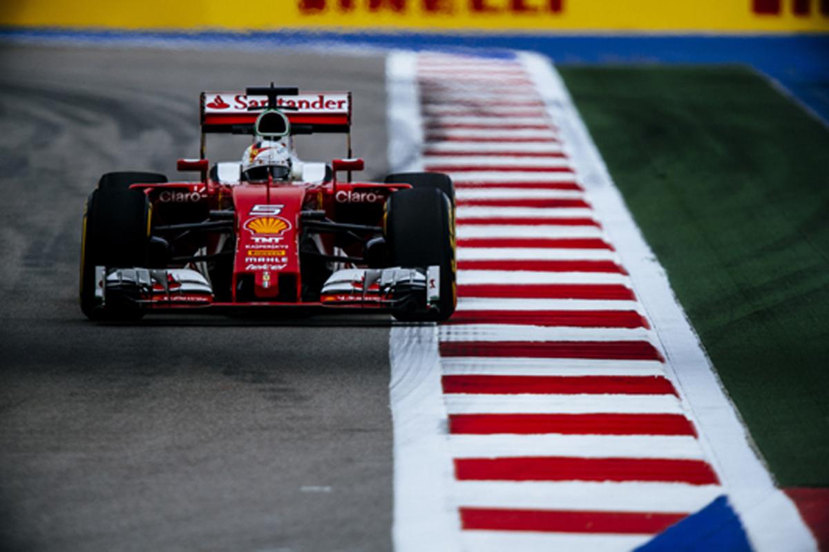 フェラーリ F1 2016 ロシアGP