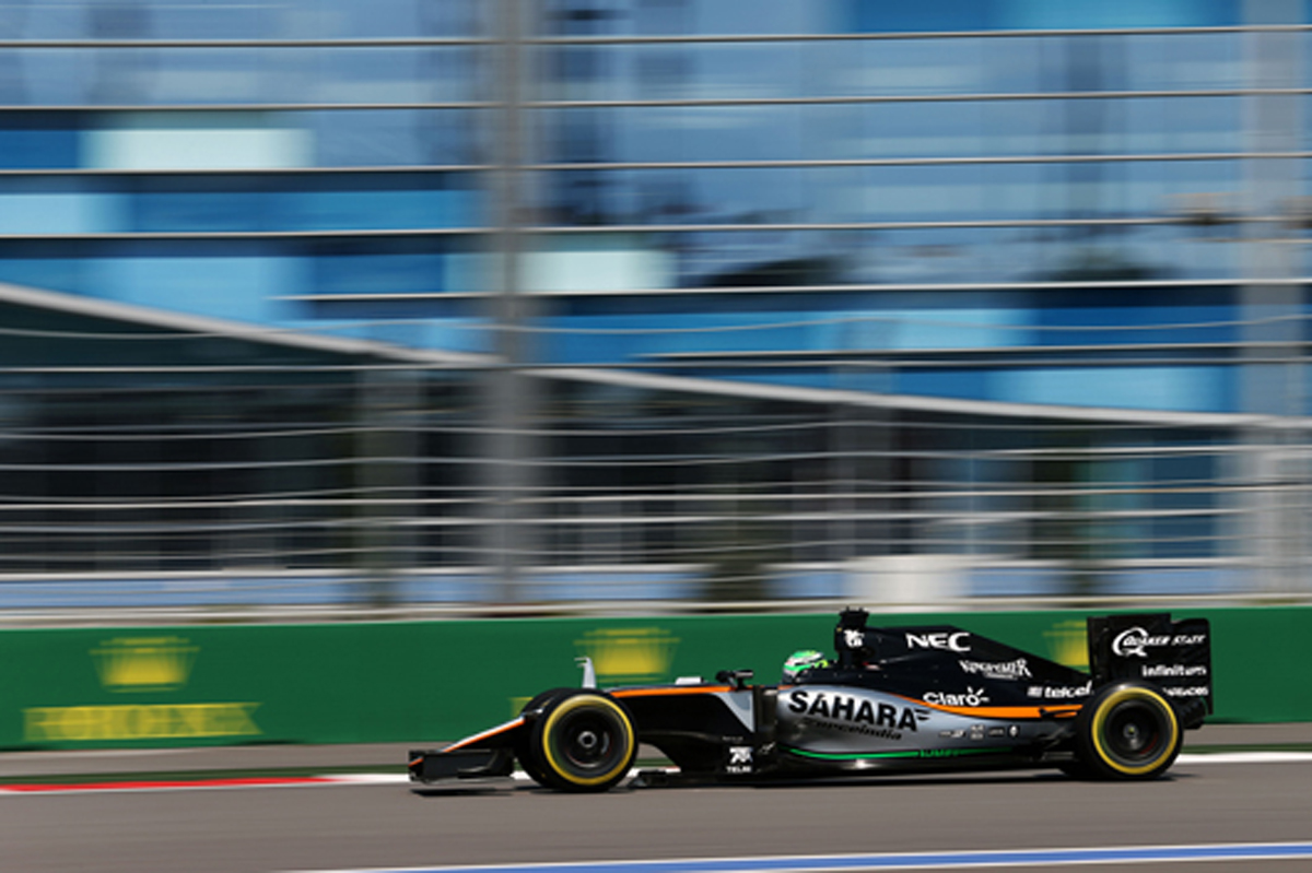 フォース・インディア F1 2016 ロシアGP