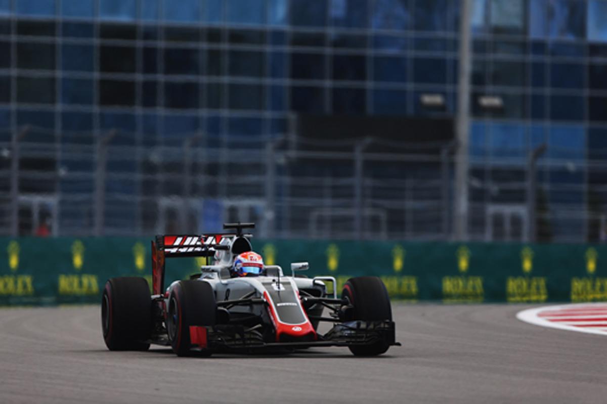 ハース F1 2016 ロシアGP