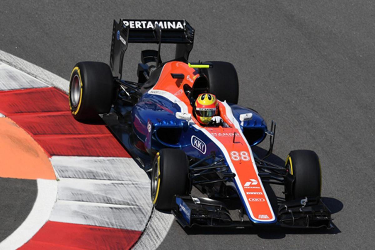 マノー F1 2016 ロシアGP
