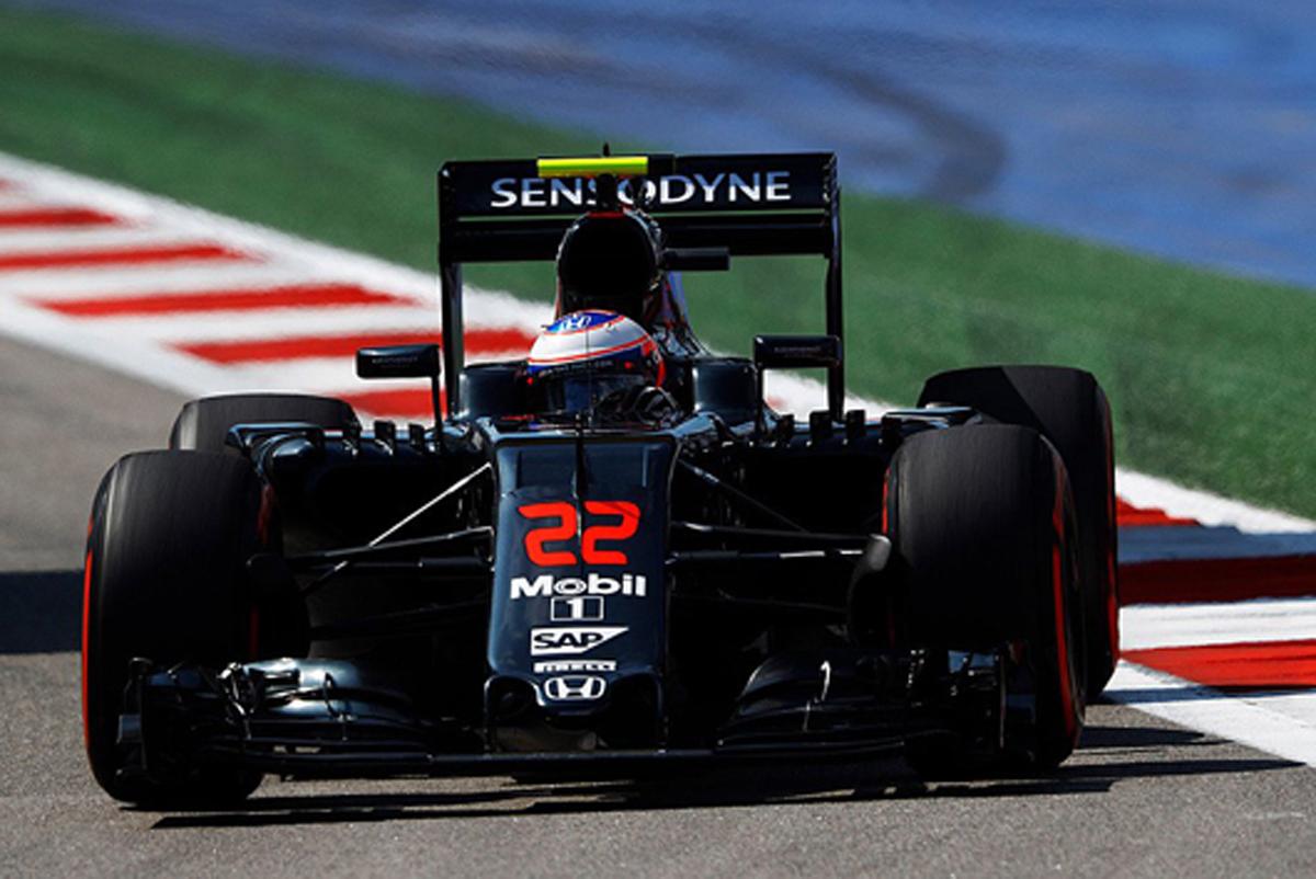 マクラーレン・ホンダ F1 2016 ロシアGP