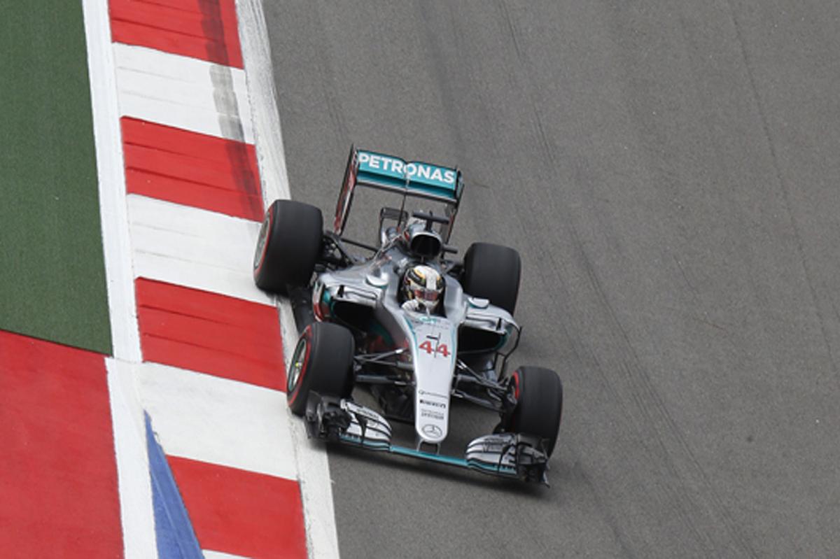 メルセデス F1 2016 ロシアGP