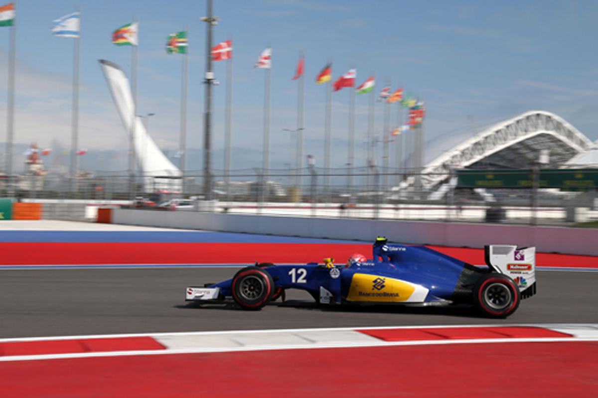 ザウバー F1 2016 ロシアGP