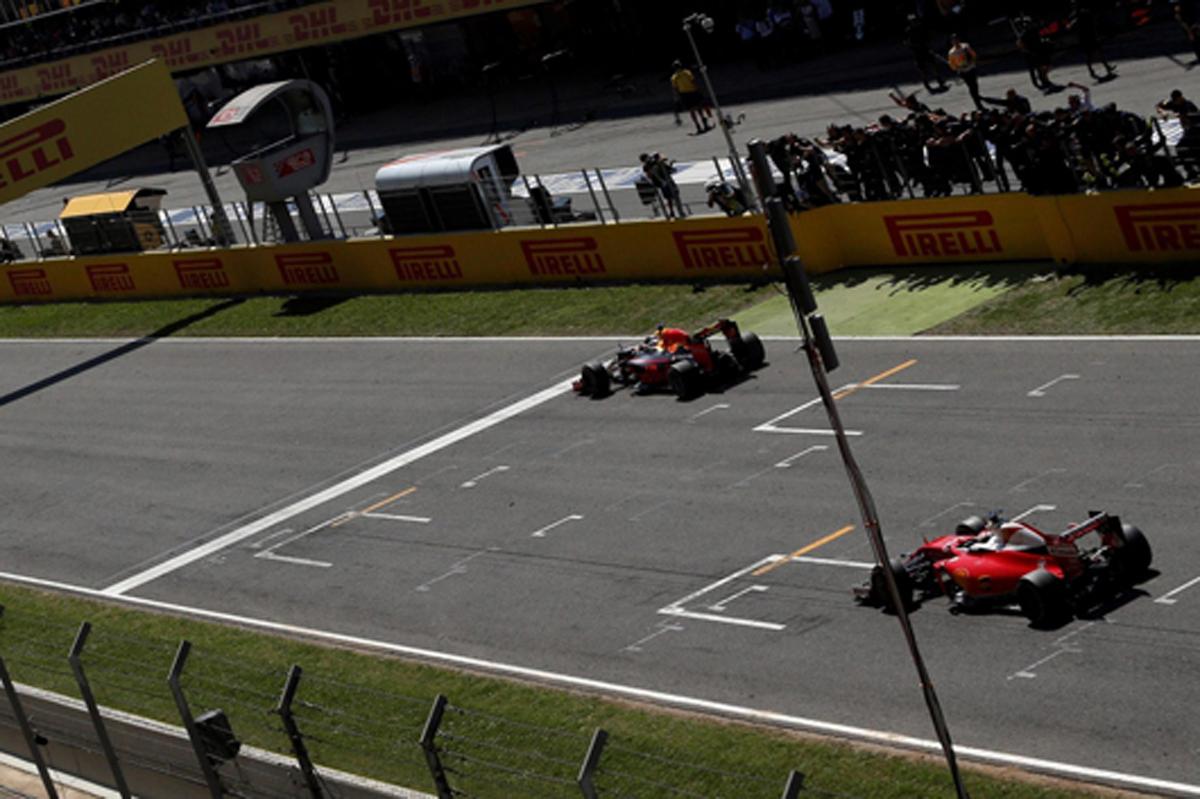 F1 2016 スペインGP 決勝 動画