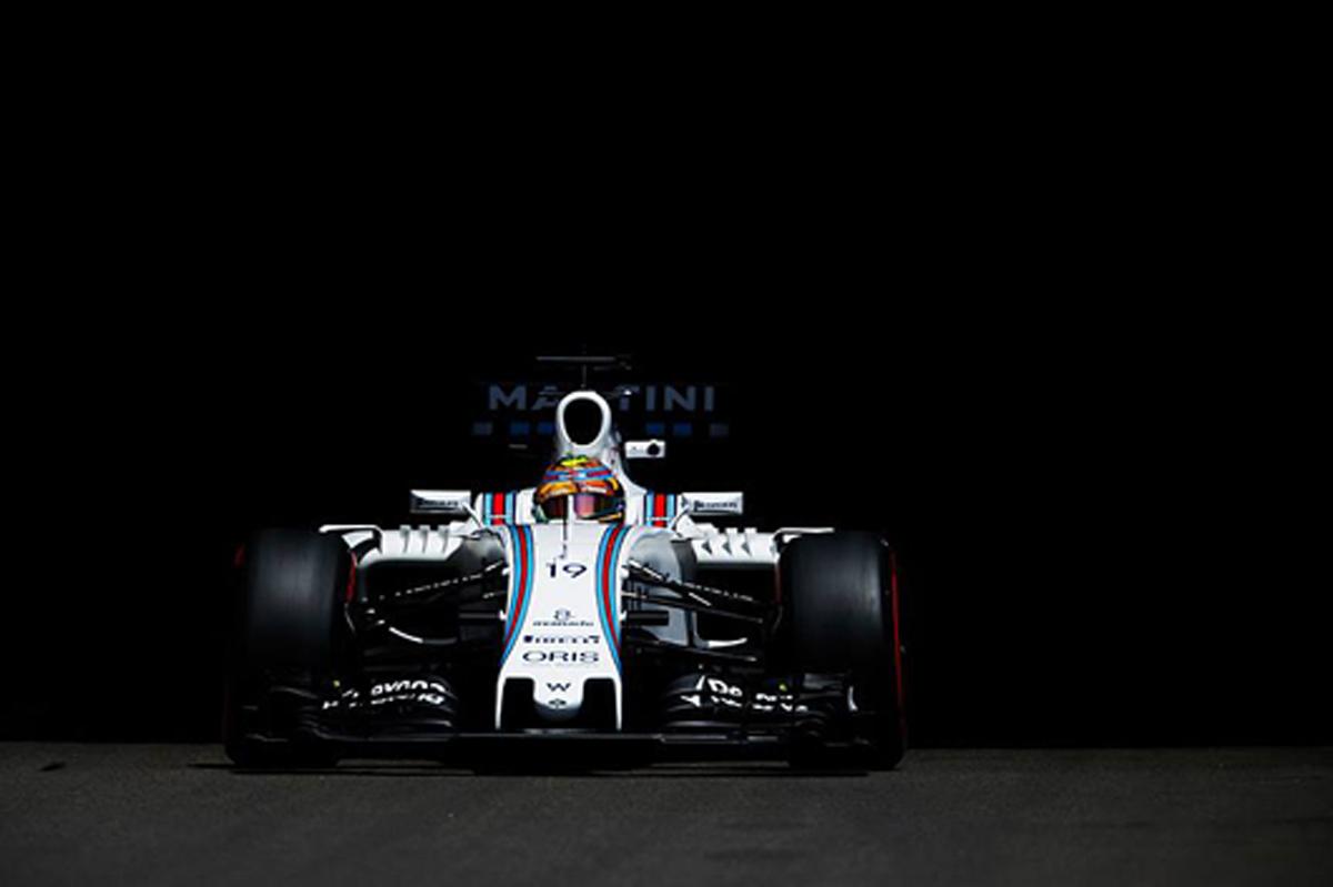 ウィリアムズ F1 2016 モナコGP 初日