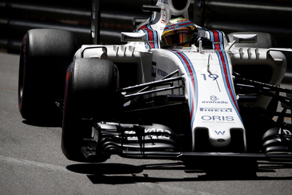 ウィリアムズ 2016 F1モナコGP 予選