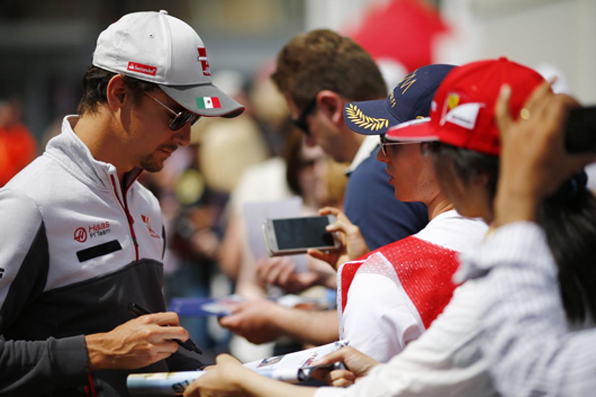 エステバン・グティエレス F1 2016 カナダ