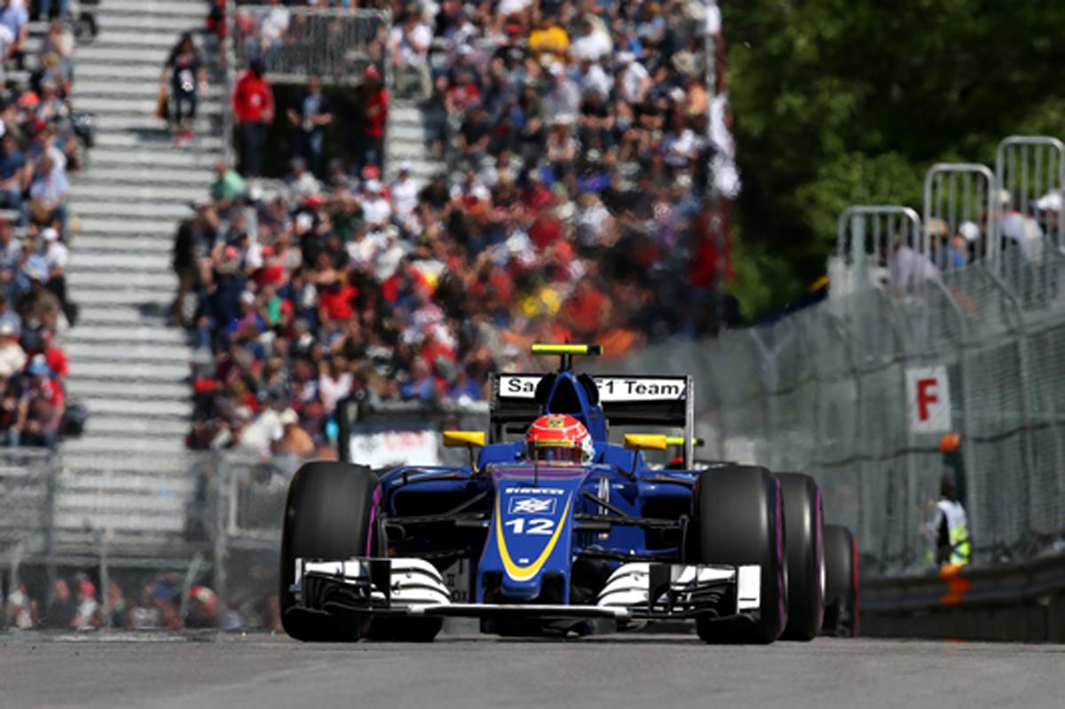 ザウバー F1 2016 カナダGP