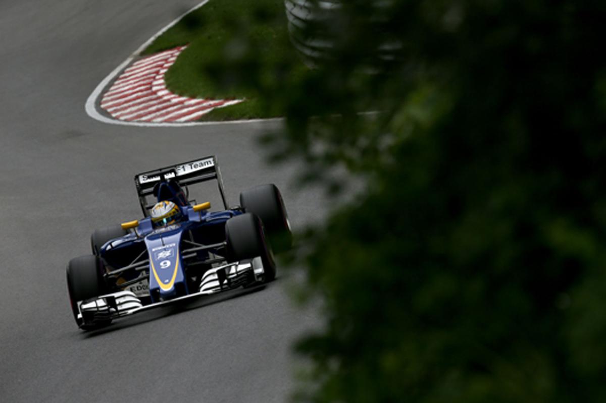 ザウバー F1 2016 カナダGP 予選