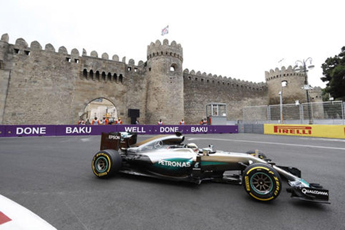 F1ヨーロッパGP アゼルバイジャン 速報