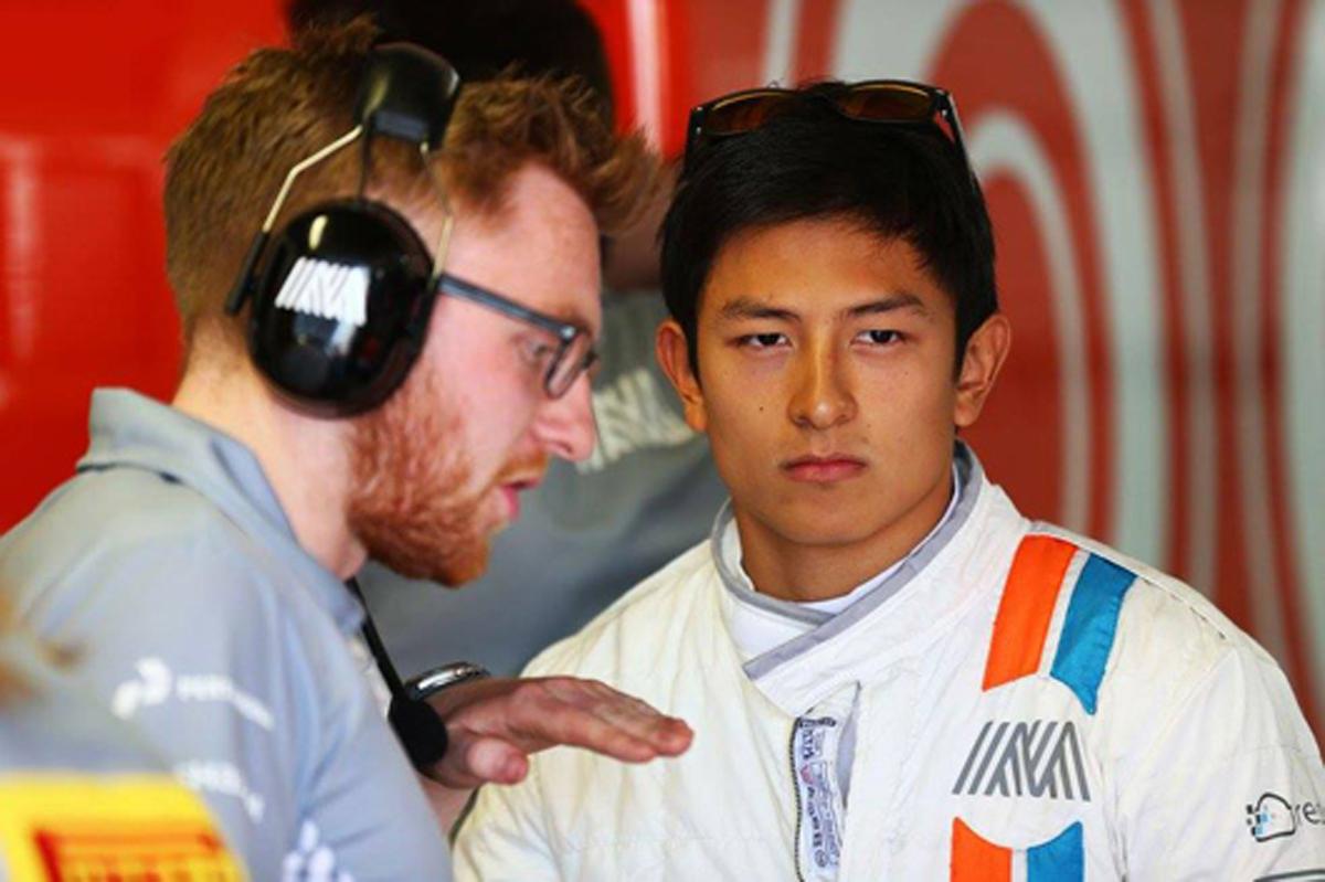 リオ・ハリアント F1ヨーロッパGP 2016