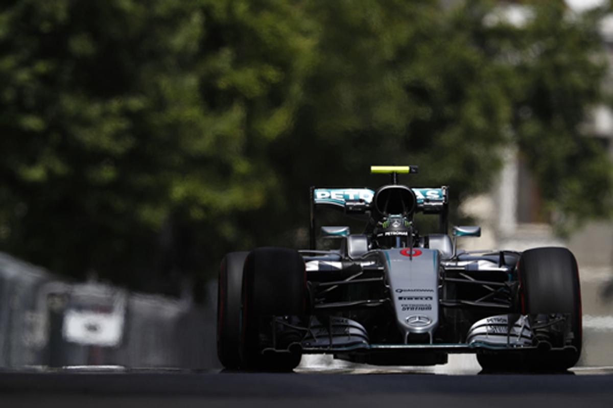 F1 2016 ヨーロッパGP 予選 結果 速報