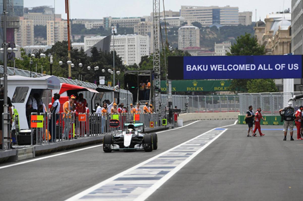 F1ヨーロッパGP フリー走行3回目 速報